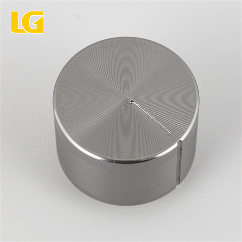 High quality single iron gray metal knobs used for gas cooker
