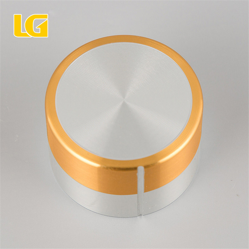 ISO9001 OEM Ningbo China New style green and white double color oven knob