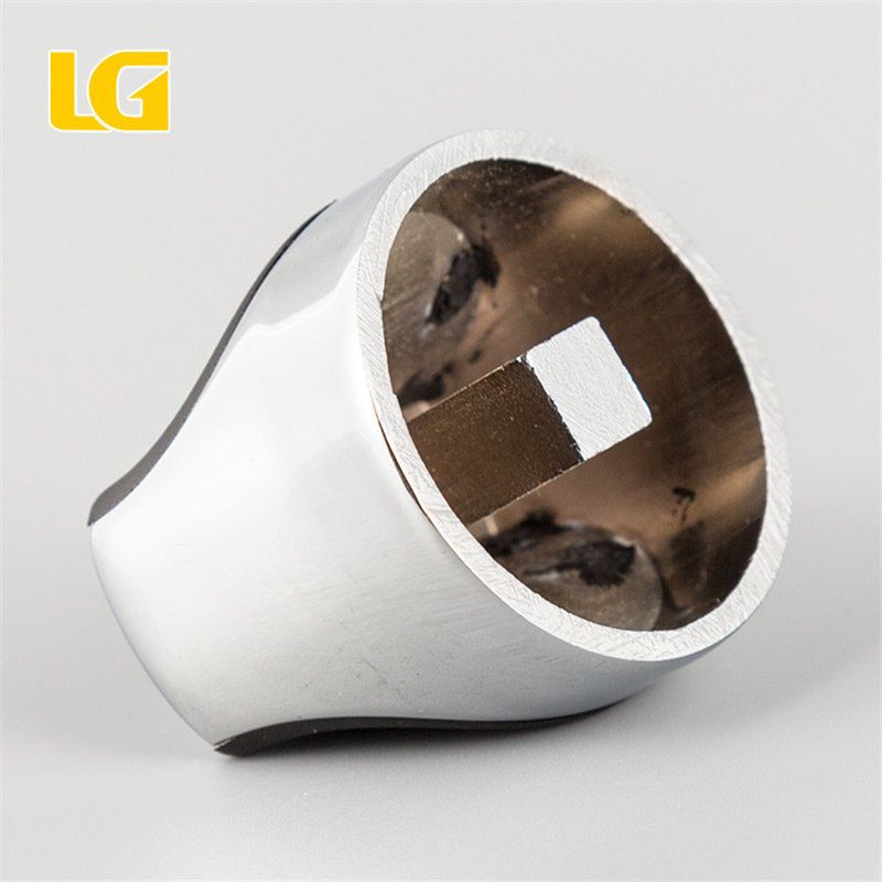 ISO9001 OEM Ningbo China Custom white and black double color oven knob
