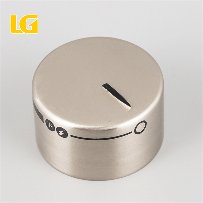 ISO9001 Ningbo OEM LG Zamak wholesale oven control temperature chrome or nickel furniture knob